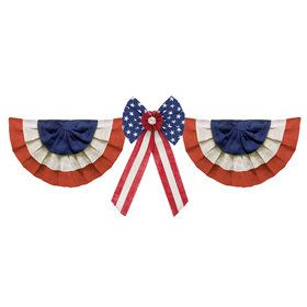 Americana Burlap Decoration Kit
