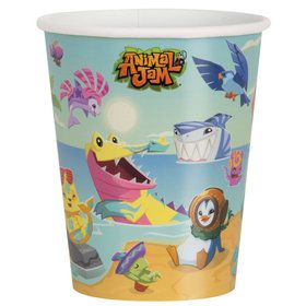 Animal Jam 9oz Paper Cups (8)