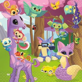 Animal Jam Beverage Napkins (16)