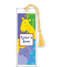Animal Jungle Personalized Bookmark (each)