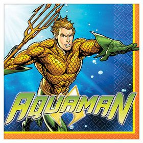 Aquaman Luncheon Napkins (16)