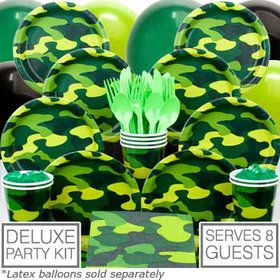 Army Party Deluxe kit Serves 8 Guests