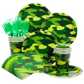 Army Party Standard Kit Serves 8 Guests