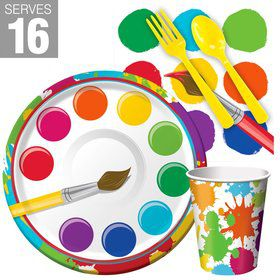 Art Party Snack Pack For 16