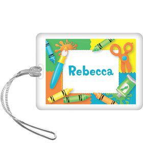 Art Personalized Bag Tag (each)