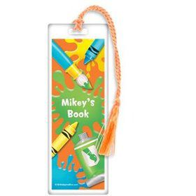Art Personalized Bookmark (each)