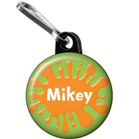 Art Personalized Mini Zipper Pull (each)