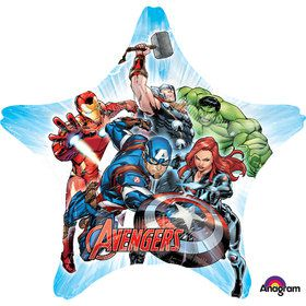 "Avengers 29"" Star Balloon (Each)"