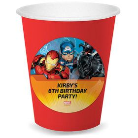 Avengers Personalized Cups (8)