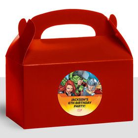 Avengers Set 2 Personalized Treat Favor Boxes (12 Count)