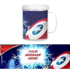 Avenging Heroes Personalized Favor Mugs (Each)