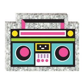 Awesome Party Mini Cassette Player Pinata Decoration
