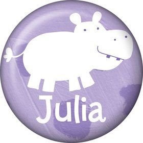 Baby Animals Personalized Mini Button (Each)