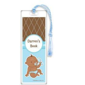Baby Boy - African American Personalized Bookmark (each)