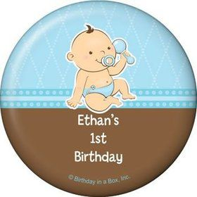 Baby Boy Personalized Magnet (each)