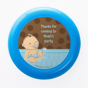 Baby Boy Personalized Mini Discs (Set of 12)
