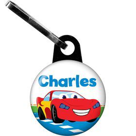 Baby Cars Too Personalized Mini Zipper Pull (Each)