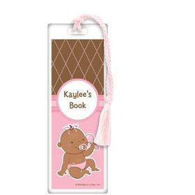 Baby Girl - African American Personalized Bookmark (each)