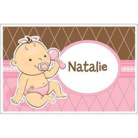 Baby Girl Personalized Placemat (each)