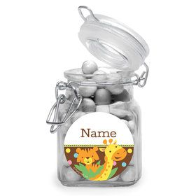 Baby Jungle Personalized Glass Apothecary Jars (12 Count)