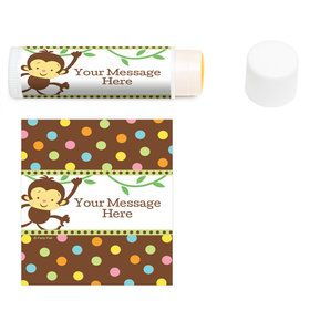 Baby Jungle Personalized Lip Balm (12 Pack)