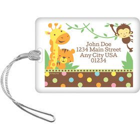 Baby Jungle Personalized Luggage Tag (Each)
