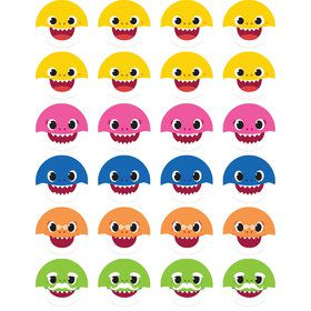 Baby Shark Assorted Mini Stickers