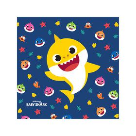 Baby Shark Beverage Napkins (16)