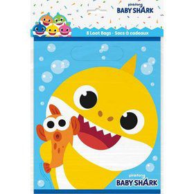 Baby Shark Loot Bags (8ct)