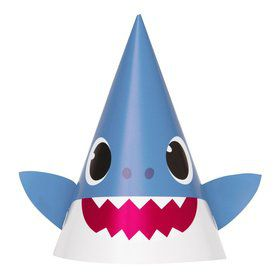 Baby Shark Party Hats (8ct)