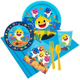 Baby Shark Party Pack for 8