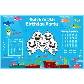 Baby Shark Personalized Activity Mat (8)