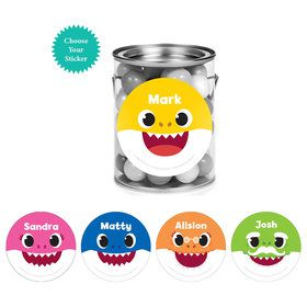 Baby Shark Personalized Mini Paint Cans (12)