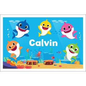 Baby Shark Personalized Placemat (Each)