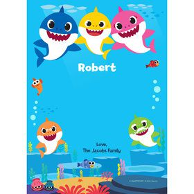 Baby Shark Personalized Thank You (Each)