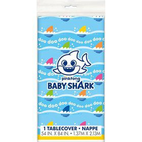 Baby Shark Plastic Tablecover