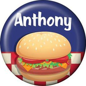 Backyard Bbq Personalized Mini Magnet (each)