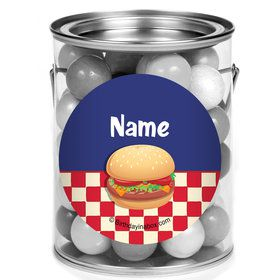 Backyard Bbq Personalized Mini Paint Cans (12 Count)