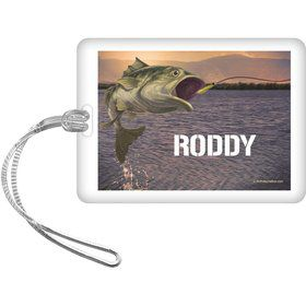 Bait 'N Hook Personalized Bag Tag (Each)