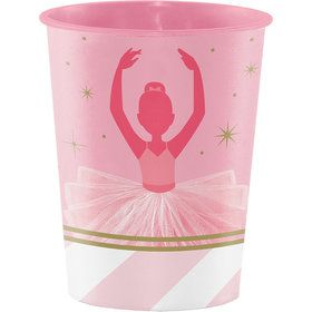 Ballerina 16oz Plastic Favor Cup (Each)