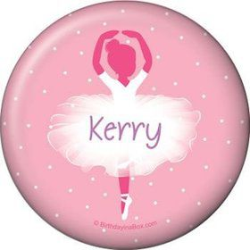 Ballet Personalized Button (each)