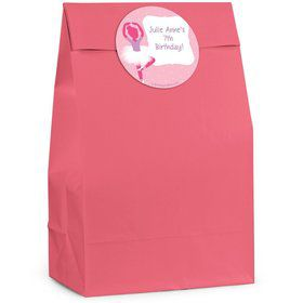 Ballerina Personalized Favor Bags (Pack Of 12)