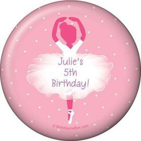 Ballet Personalized Magnet (each)
