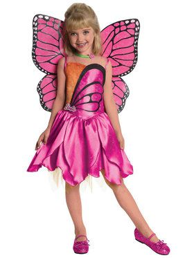 Barbie-Deluxe Mariposa Toddler / Child Costume