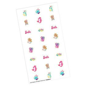 Barbie Mermaid Nail Decal Kit (4)