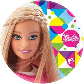 "Barbie Sparkle 9 "" Luncheon Plates (8 Pack)"