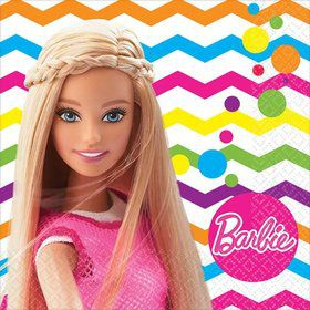 Barbie Sparkle Beverage Napkins (16 Pack)