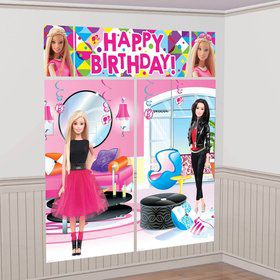 Barbie Sparkle Wall Decorating Kit