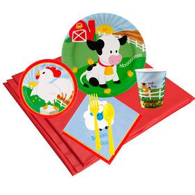 Barnyard 24 Guest Party Pack