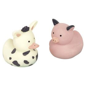 Barnyard Birthday Rubber Duck Favors (8)